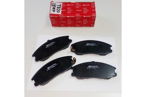 Колодки тормозные передние T600/Coupa